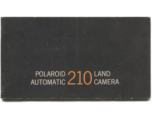 Vintage Polaroid Automatic 210 Land Camera Book Owner's Manual Booklet