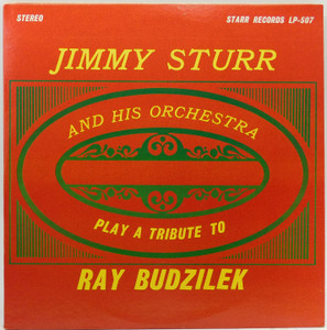 Jimmy Sturr and Orchestra: Play a Tribute to Ray Budzilek - LP Vinyl Record Album