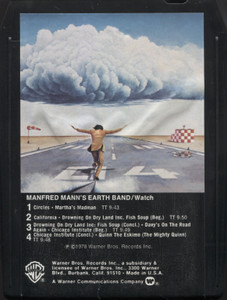 Manfred Mann's Earth Band: Watch - 8 Track Tape Cartridge