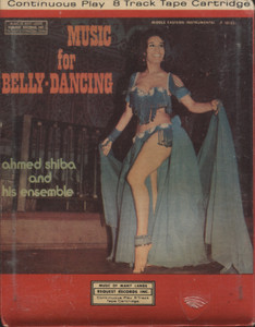 Ahmed Shiba & His Ensemble: Music for Belly-Dancing - Factory Sealed 8 Track Tape Cartridge