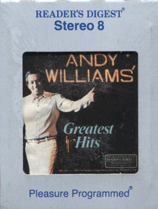 Andy Williams: Greatest Hits - Factory Sealed 8 Track Tape Cartridge