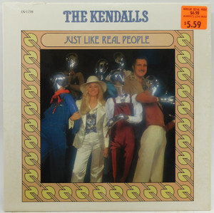 The Kendalls: Just Like Real People - LP Vinyl Record Album