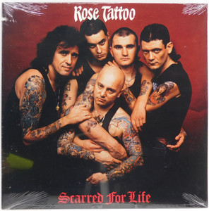 Rose Tattoo: Scarred for Life - Factory Sealed LP Vinyl Record Album