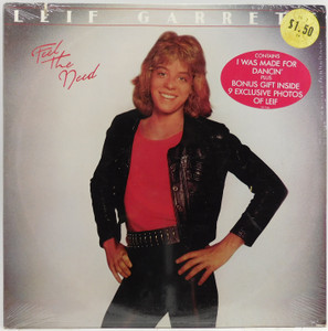 Leif Garrett: Feel the Need - Factory Sealed LP Vinyl Record Album