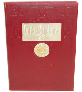 1951 Bells of St. Mary's - St. Mary's Academy High School Yearbook - Dunkirk, NY