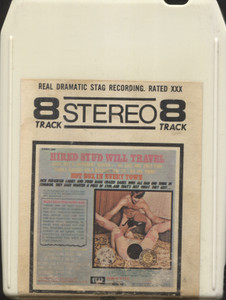 Hired Stud Will Travel - XXX Stag 8 Track Tape Porno Cartridge
