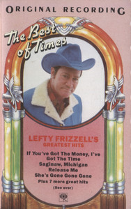 Lefty Frizzell: Greatest Hits - Audio Cassette Tape
