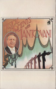 Mantovani & Orchestra: Musical Moments with Mantovani - Audio Cassette Tape