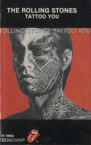 The Rolling Stones: Tattoo You - Audio Cassette Tape