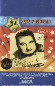 Pete Fountain: The Best of Pete Fountain, Volume 2 - Audio Cassette Tape