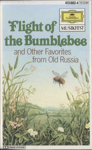 Violin Ensemble of the Bolshoi Theatre: Flight of the Bumblebee, Favorites from Old Russia - Audio Cassette Tape