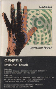 Genesis: Invisible Touch - Audio Cassette Tape