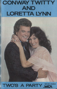 Conway Twitty & Loretta Lynn: Two's a Party - Audio Cassette Tape