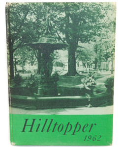 Vintage 1962 Hilltopper - Fredonia Central School High School Yearbook - Fredonia, NY