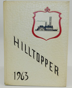 Vintage 1963 Hilltopper - Fredonia Central School High School Yearbook - Fredonia, NY