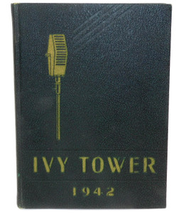 Vintage 1942 Ivy Tower - Dunkirk High School Yearbook - Dunkirk, NY