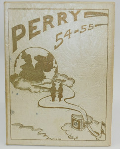 Vintage 1955 Perry - Perry High School Yearbook - Pittsburgh, PA