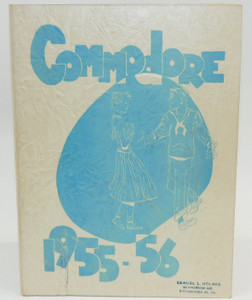 Vintage 1956 The Perry Commodore - Perry High School Yearbook - Pittsburgh, PA
