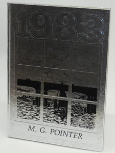 Vintage 1983 The M.G. Pointer - Maple Grove High School Yearbook - Bemus Point, NY
