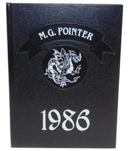 Vintage 1986 The M.G. Pointer - Maple Grove High School Yearbook - Bemus Point, NY