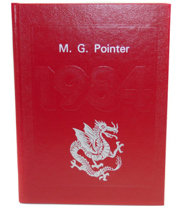 Vintage 1984 The M.G. Pointer - Maple Grove High School Yearbook - Bemus Point, NY