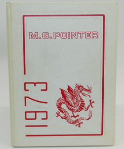 Vintage 1973 The M.G. Pointer - Maple Grove High School Yearbook - Bemus Point, NY