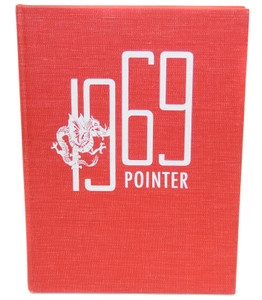 Vintage 1969 The M.G. Pointer - Maple Grove High School Yearbook - Bemus Point, NY
