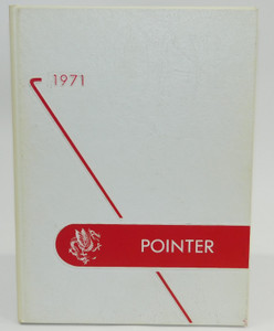 Vintage 1971 The M.G. Pointer - Maple Grove High School Yearbook - Bemus Point, NY