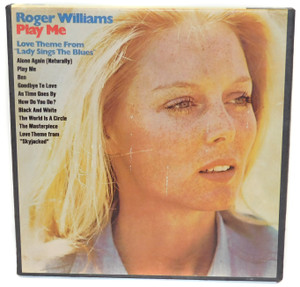 Roger  Williams: Play Me, Love Theme from Lady Sings the Blues - Reel to Reel Audio Tape