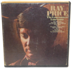 Ray Price: The Lonesomest Lonesome - Reel to Reel Audio Tape