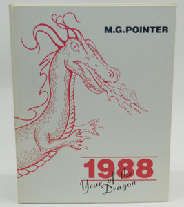 Vintage 1988 The M.G. Pointer - Maple Grove High School Yearbook - Bemus Point, NY