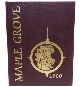 Vintage 1990 The M.G. Pointer - Maple Grove High School Yearbook - Bemus Point, NY