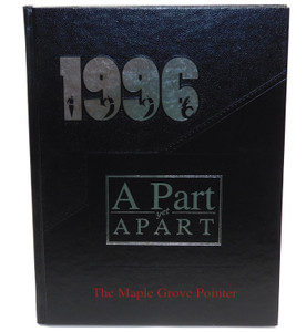 Vintage 1996 The M.G. Pointer - Maple Grove High School Yearbook - Bemus Point, NY
