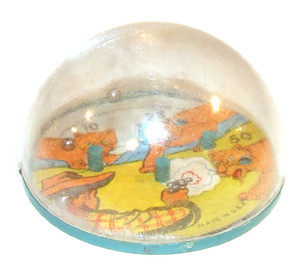 1951 Cowboy & Mountain Lion BB Dexterity Game Baby World Co.