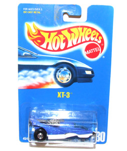 1991 Mattel Hot Wheels XT-3 No. 230 Toy Car in Package NOS