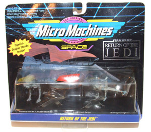 1993 Micro Machines Return of the Jedi Space Star Wars Vehicle Set