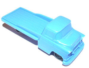 Vintage 1950's Processed Plastic Toy Pickup Truck
