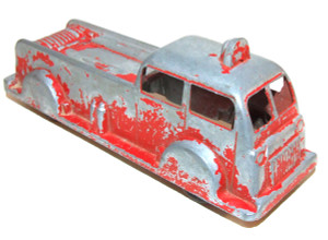 Vintage Excel Products Diecast Streamlined Modern Firetruck Fire Engine Truck