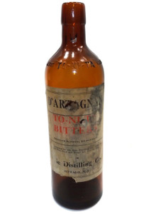 Antique D'Artagnan To-Ni-Ta Bitters Medicine Bottle - Erie Distilling Company, Buffalo, NY