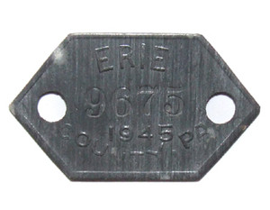 1947 Dog License Tag - Erie County, PA