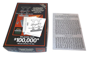 Vintage 1985 Decipher II Number Code Prize Puzzle in Box