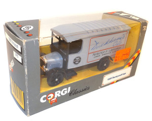 Vintage Corgi Classics 1929 Thornycroft Van Duckham's Oil Toy Truck in Package