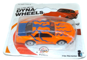 Vintage NOS 1989 Dynawheels Diecast Toy Car in Package