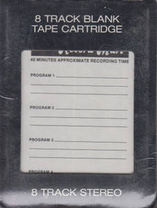 National Record Mart 40 Minute Blank 8 Track Recording Tape