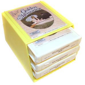 Golden Memories Three 8 Track Tapes