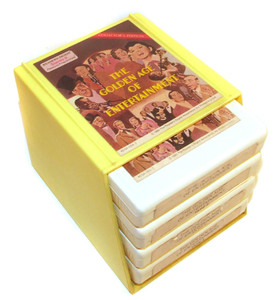 The Golden Age of Entertainment - Four 8 Track Tapes