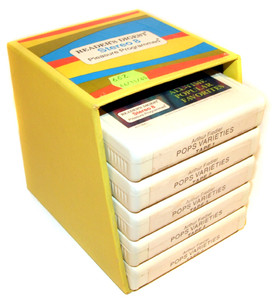 THE BOSTON POPS ORCHESTRA: Pops Varieties- Five 8 Track Tapes