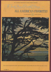 All-American Favorites -Two 8 Track Tapes