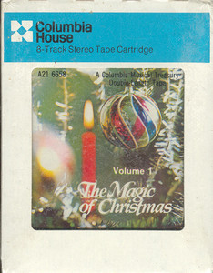 The Magic of Christmas Two Sealed 8 Track tapes
