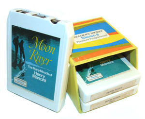 Henry Mancini: Moon River - The Many Moods of Henry Mancini - Three 8 Track Tapes